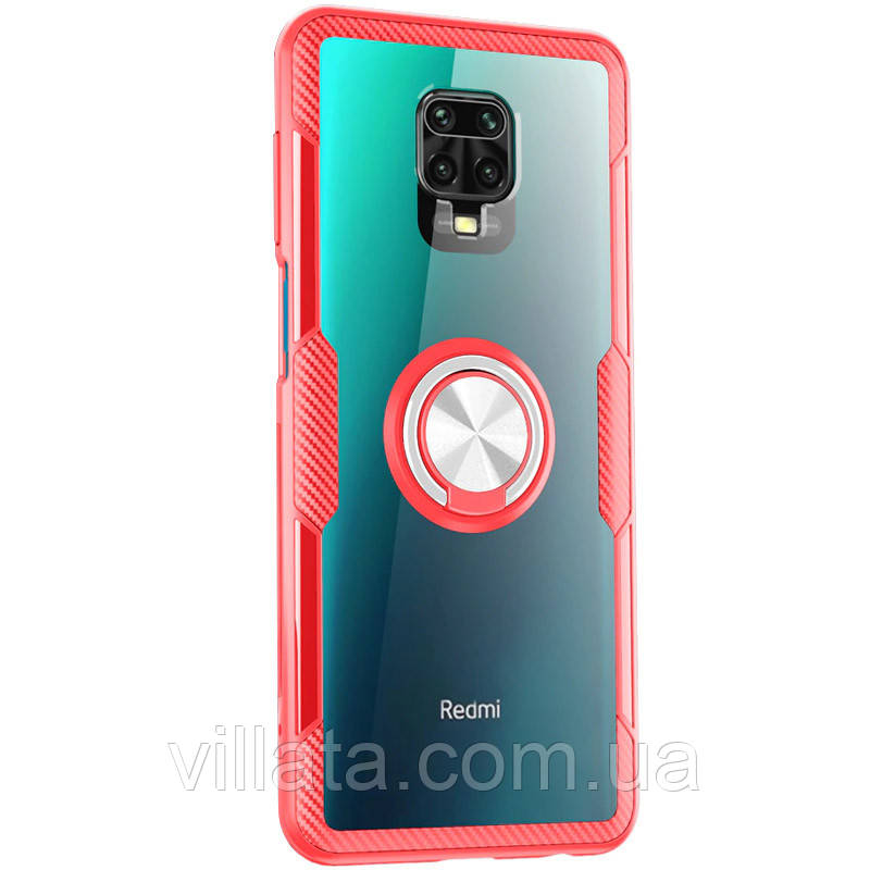 TPU+PC чохол Deen CrystalRing for Magnet (opp) для Xiaomi Redmi Note 9s/9 Pro/9 Pro Max