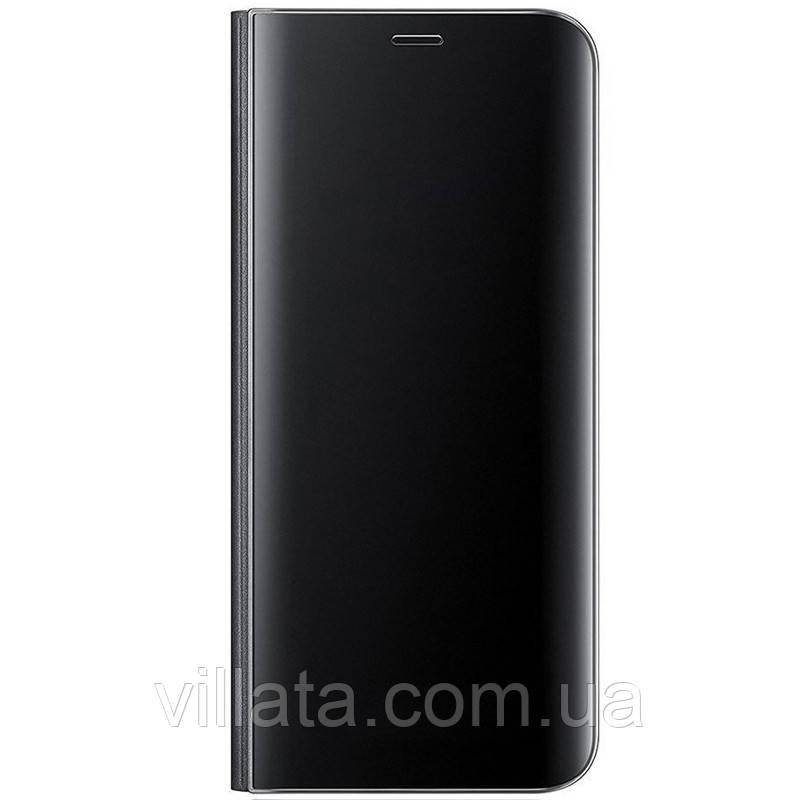 Чехол-книжка Clear View Standing Cover для Realme XT Realme XT, Для телефона, Черный