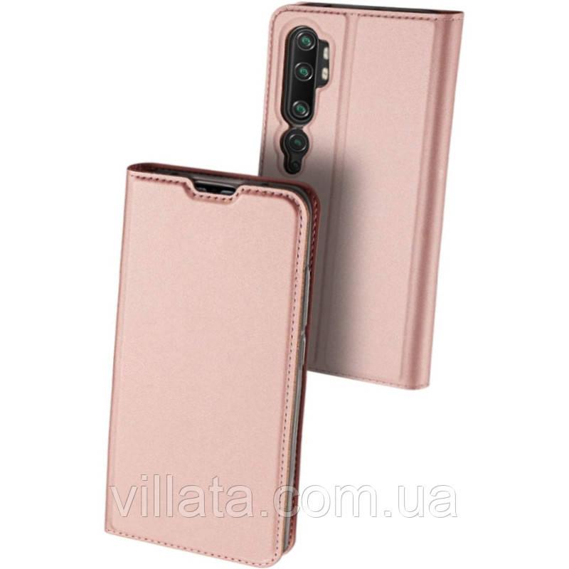 Чехол-книжка Dux Ducis с карманом для визиток для Xiaomi Mi 10 / Mi 10 Pro Xiaomi Mi 10 / Mi 10 Pro, Для телефона, Rose Gold