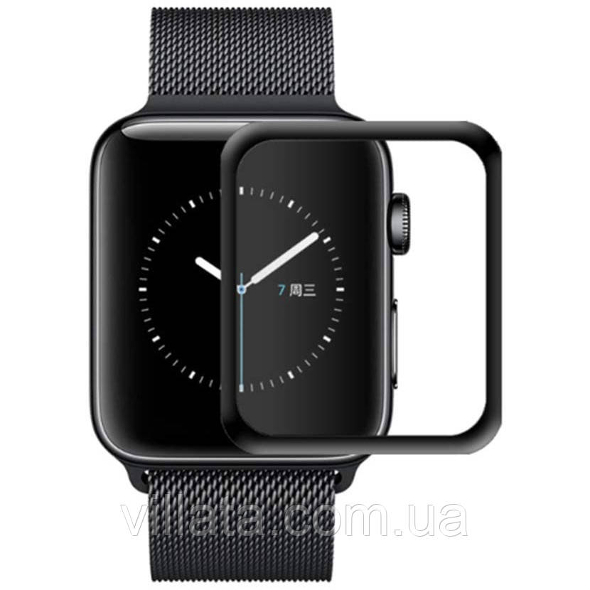 Полімерна плівка 3D (full glue) (тех. пак) для Apple watch 40mm