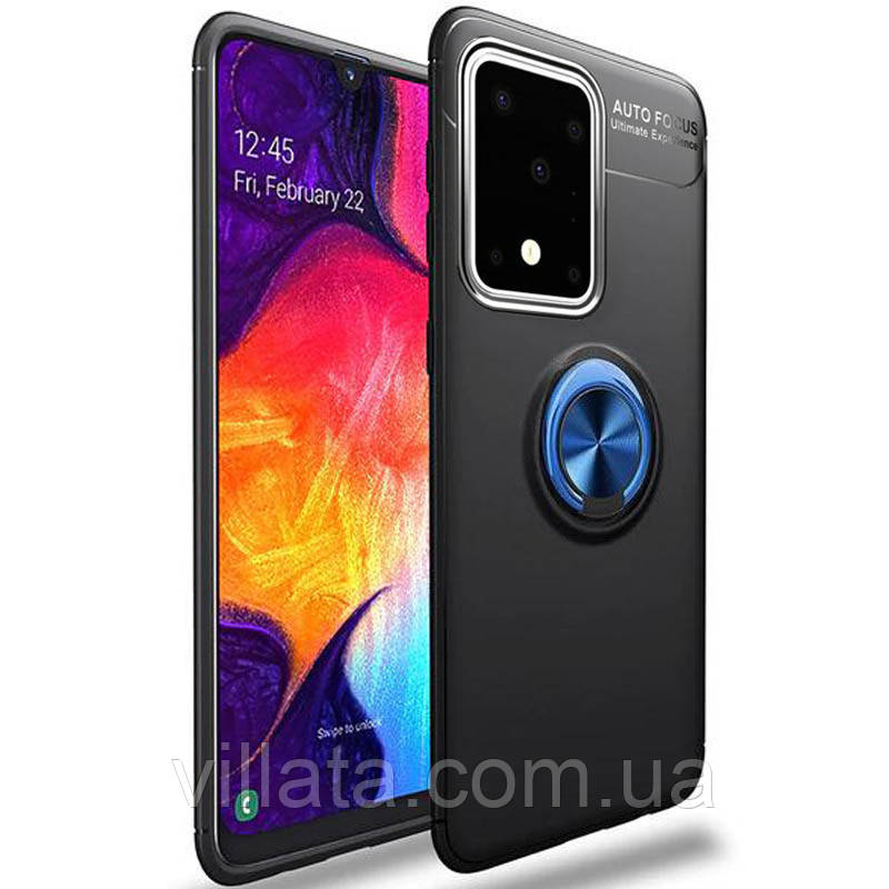 TPU чехол Deen ColorRing под магнитный держатель для Samsung Galaxy S20 Ultra