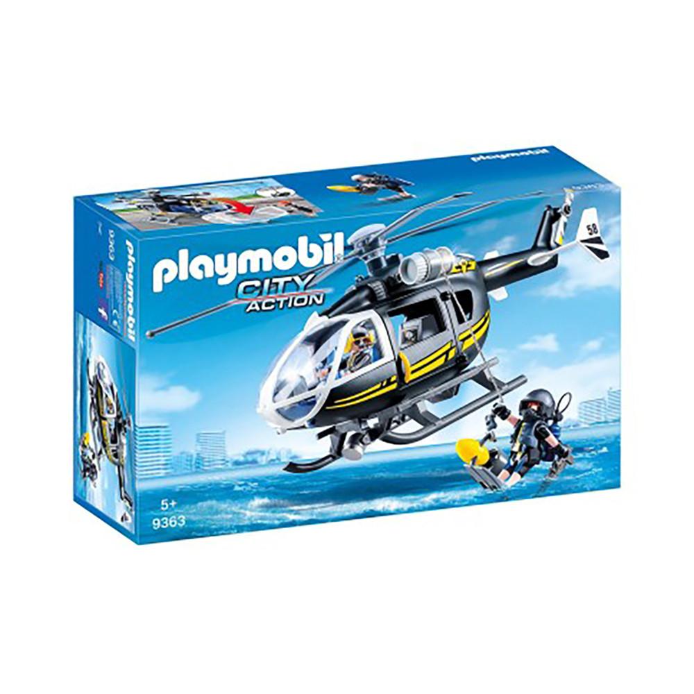 """Ігровий набір """"Вертоліт спейцназа"""" Playmobil (4008789093639)"""