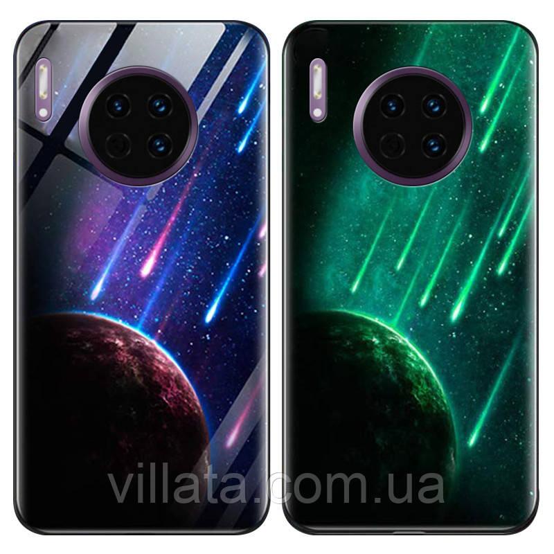 TPU+Glass чехол светящийся в темноте для Huawei Mate 30 Pro