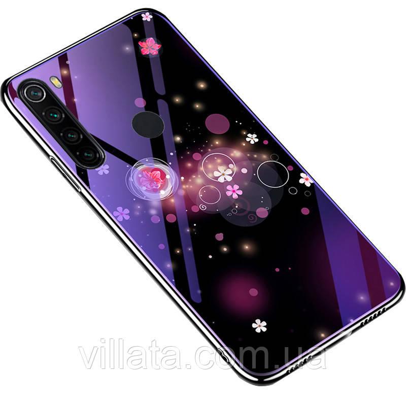 TPU+Glass чохол Fantasy з глянцевими торцями для Xiaomi Redmi Note 8