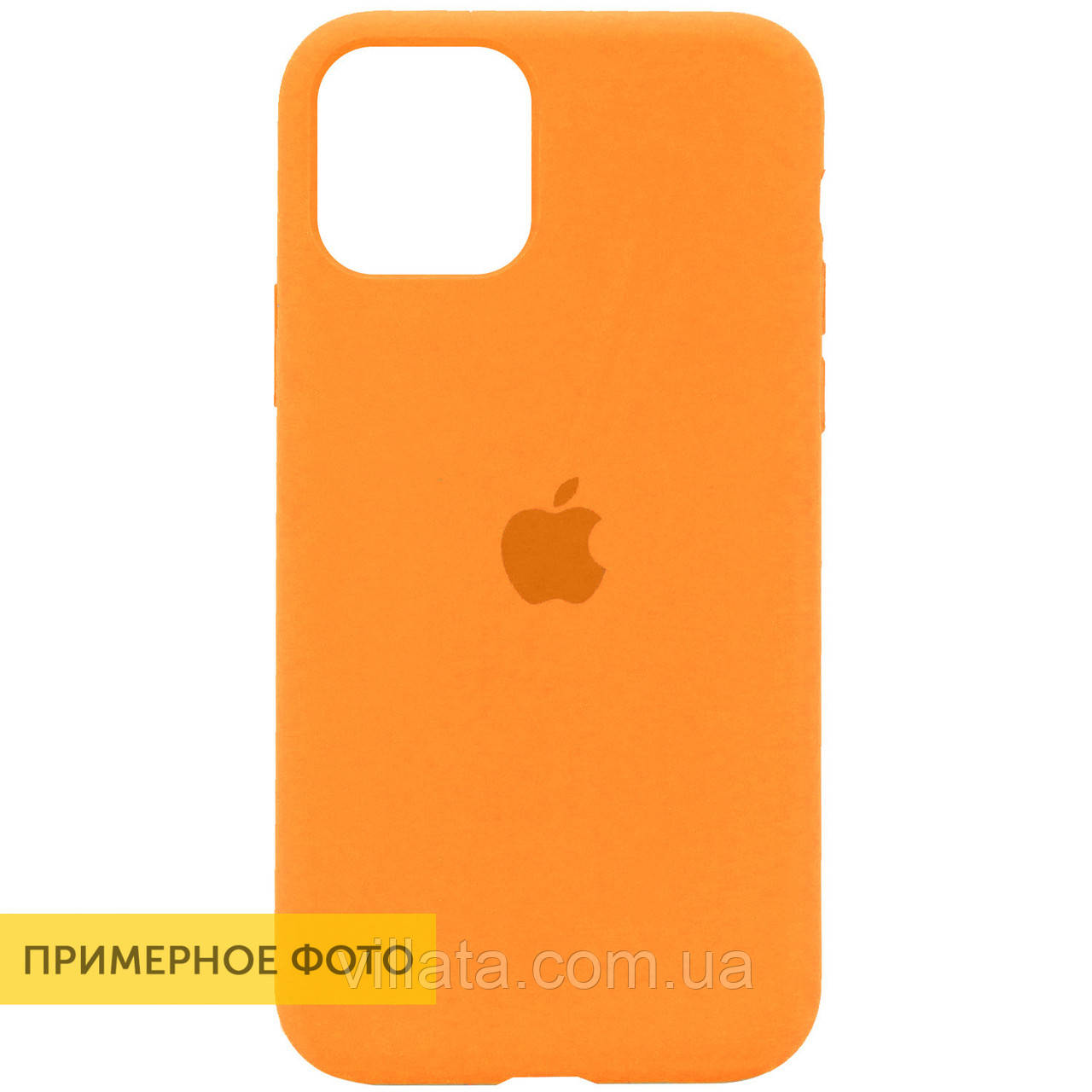 "Чехол Silicone Case Full Protective (AA) для Apple iPhone 7 / 8 / SE (2020) (4.7"") Apple iPhone 7 / 8 (4.7""), Для телефона, Оранжевый / Papaya"