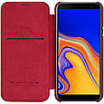 Кожаный чехол (книжка) Nillkin Qin Series для Samsung Galaxy J4+ (2018), фото 3