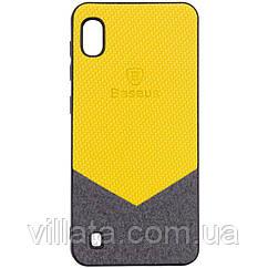 TPU чехол Baseus Сolor textile для Samsung Galaxy A10 (A105F)