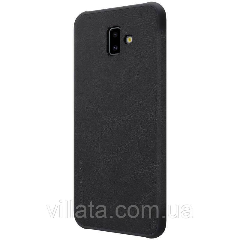 Кожаный чехол (книжка) Nillkin Qin Series для Samsung Galaxy J6+ (2018) (J610F)