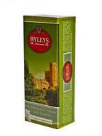 Чай в пакетиках зеленый Хэйлис Англ. с Цветочками Жасмина 25п.