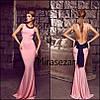 Вечернее платье с бантом и открытой спиной  (три цвета), фото 2