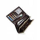 Жіночий шкіряний гаманець Betlewski з RFID 17,7 х 9 х 2,3 (BPD-BF-13) - коричневий, фото 4