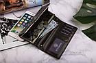 Жіночий шкіряний гаманець Betlewski з RFID 17,7 х 9 х 2,3 (BPD-BF-13) - коричневий, фото 5