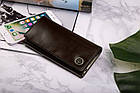 Жіночий шкіряний гаманець Betlewski з RFID 17,7 х 9 х 2,3 (BPD-BF-13) - коричневий, фото 6