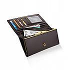 Жіночий шкіряний гаманець Betlewski з RFID 17,7 х 9 х 2,3 (BPD-BF-13) - коричневий, фото 8