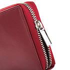 Жіночий шкіряний гаманець Betlewski з RFID 19,5 х 10 х 2,5 (BPD-SS-21) - червоний, фото 5