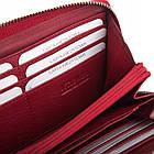 Жіночий шкіряний гаманець Betlewski з RFID 19,5 х 10 х 2,5 (BPD-SS-21) - червоний, фото 7