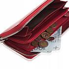 Жіночий шкіряний гаманець Betlewski з RFID 19,5 х 10 х 2,5 (BPD-SS-21) - червоний, фото 8