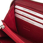 Жіночий шкіряний гаманець Betlewski з RFID 19,5 х 10 х 2,5 (BPD-SS-21) - червоний, фото 9