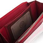 Жіночий шкіряний гаманець Betlewski з RFID 19,5 х 10 х 2,5 (BPD-SS-21) - червоний, фото 10