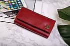 Шкіряний гаманець BETLEWSKI з RFID 17,5 х 9 х 4 (BPD-BF-12) - червоний, фото 2