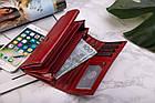 Шкіряний гаманець BETLEWSKI з RFID 17,5 х 9 х 4 (BPD-BF-12) - червоний, фото 8