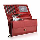 Шкіряний гаманець BETLEWSKI з RFID 17,5 х 9 х 4 (BPD-BF-12) - червоний, фото 9