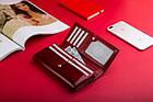 Жіночий шкіряний гаманець Betlewski з RFID 18 х 10 х 4 (BPD-BS-100) - червоний, фото 3