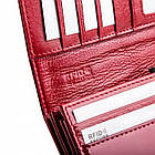 Жіночий шкіряний гаманець Betlewski з RFID 18 х 10 х 4 (BPD-BS-100) - червоний, фото 5