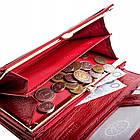 Жіночий шкіряний гаманець Betlewski з RFID 18 х 10 х 4 (BPD-BS-100) - червоний, фото 6