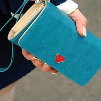 Женский кошелек - чехол для телефона. Четыре цвета.