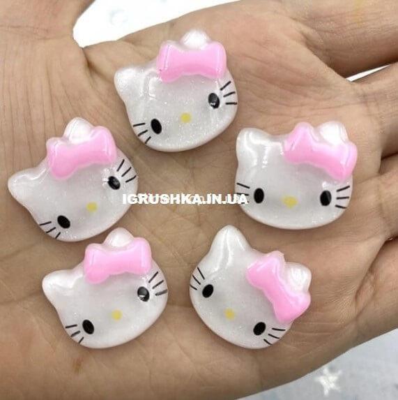 Шарм «Kitty White and Pink» для слайма