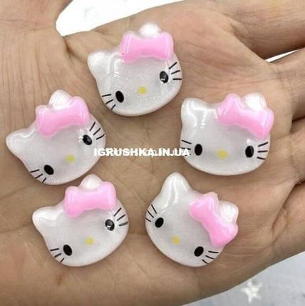 Шарм «Kitty White and Pink» для слайма, фото 2