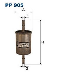 Фильтр топливный WIX (Filtron) 8101WF (Daewoo)