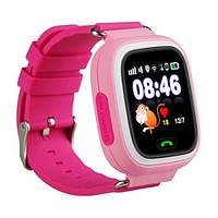 Смарт-часы детские Smart Baby Watch Q90 Pink Розовые