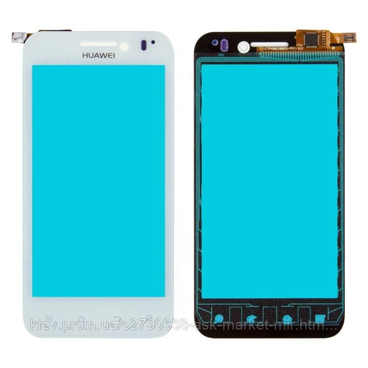 Сенсор для Huawei Honor U8860 Original White #ZFGD 022 XH-4501-A4 ZF022-FLF