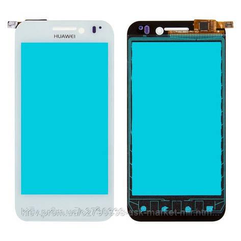 Сенсор для Huawei Honor U8860 Original White #ZFGD 022 XH-4501-A4 ZF022-FLF, фото 2