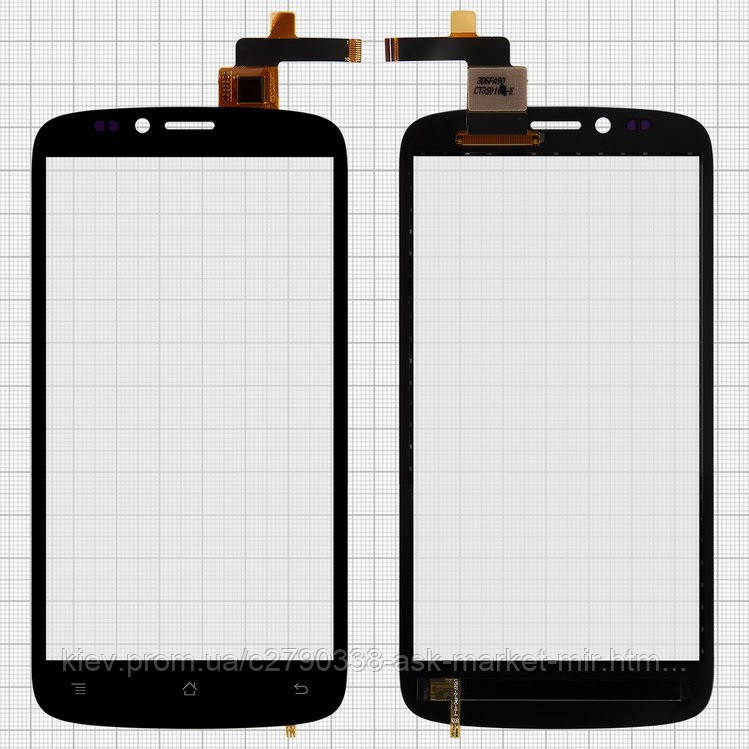 Сенсор для IconBIT NetTAB Mercury Q5 NT-3510M Original Black #CT3S0150FPC-A1-E
