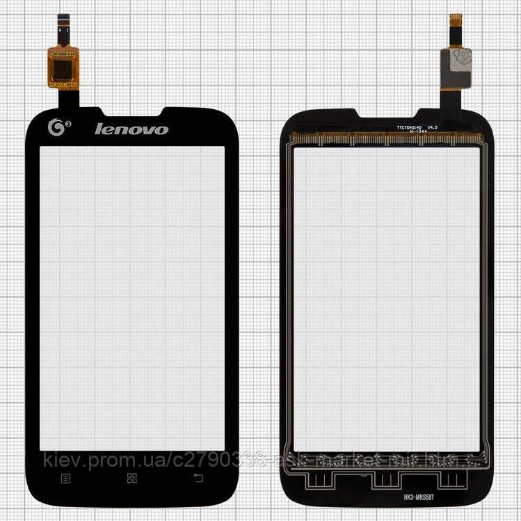 Сенсор для Lenovo A300T Original Black