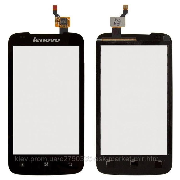 Сенсор для Lenovo A356 Original Black