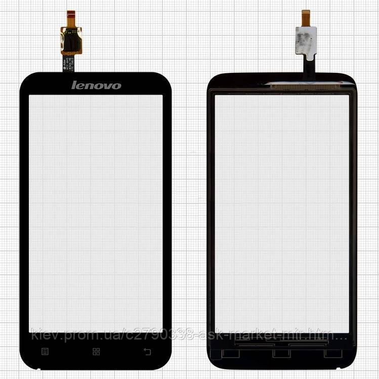 Сенсор для Lenovo A398T Original Black