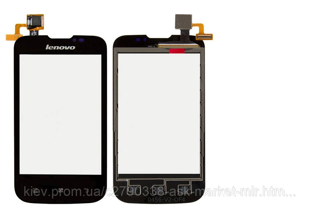 Сенсор для Lenovo A60+ Original Black