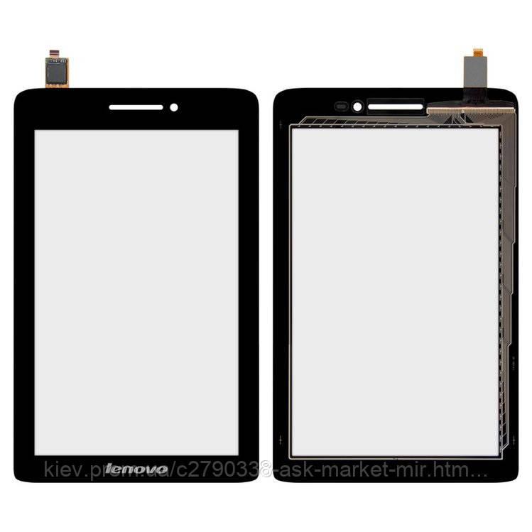 Сенсор для Lenovo IdeaTab S5000 Original Black #MCF-070-1067-V2