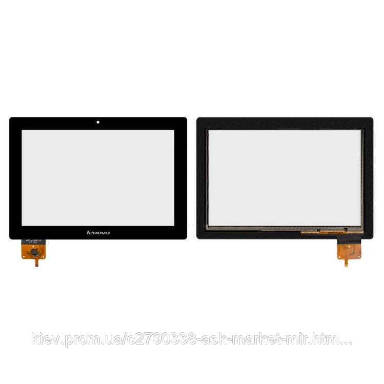 Сенсор для Lenovo IdeaTab S6000 Original Black #MCF-101-0887-V2