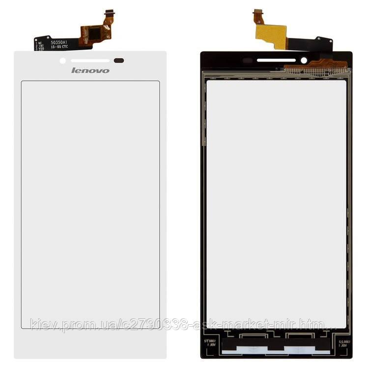 Сенсор для Lenovo P70 Original White