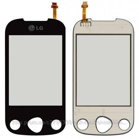 Сенсор для LG C330 Linkz Original Black, фото 2