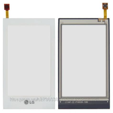 Сенсор для LG GT505 Original White, фото 2