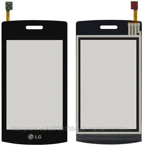 Сенсор для LG GT505 Original Black, фото 2