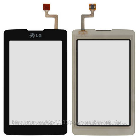 Сенсор для LG KP500, KP501 Original Black, фото 2