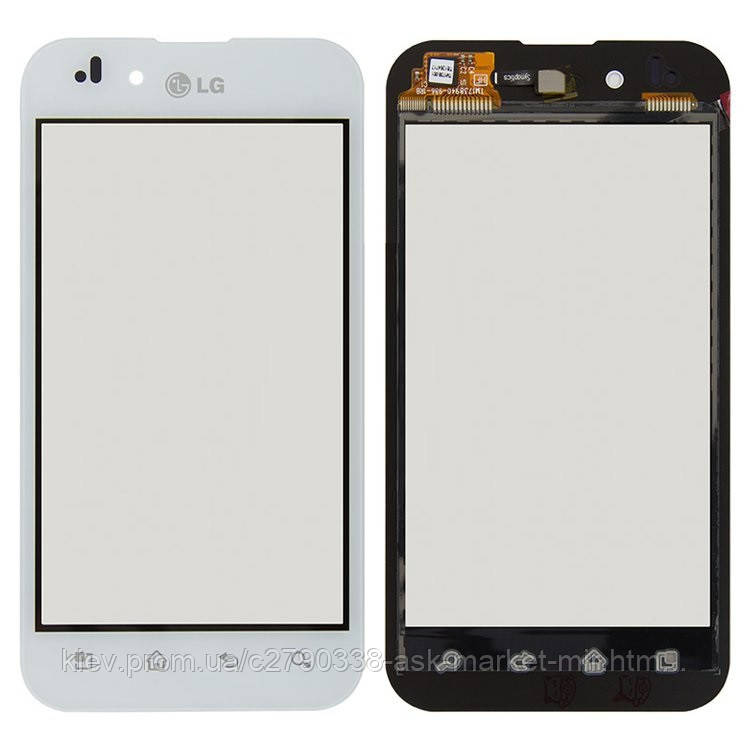 Сенсор для LG Optimus Black P970 Original White