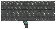 Качественная клавиатура для ноутбука Apple MacBook Air 2011+ A1370 2010, 2011 года, A1465 2012, 2013, 2014, 2015 года с подсветкой Light Black, No